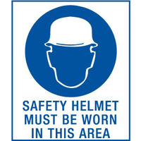 Safety Helmet Must be Worn in This Area