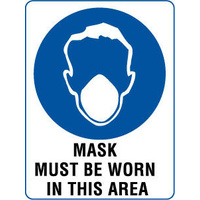 Mask Must Be Worn In This Area