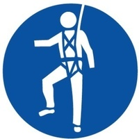Safety Harness Pictogram