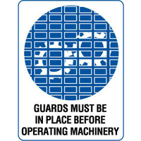 Guards Must be in Place Before Operating Machinery