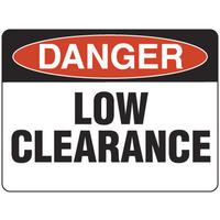 Danger Low Clearance
