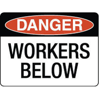 Danger Workers Below