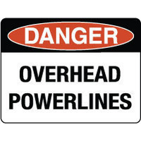 Danger Overhead Powerlines