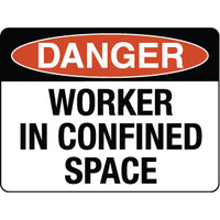 Danger Worker in Confined Space