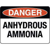 Danger Anhydrous Ammonia