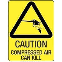 Caution Compressed Air Can Kill