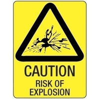 Caution Risk of Explosion
