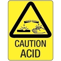 Caution Acid