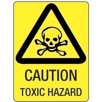 Caution Toxic Hazard