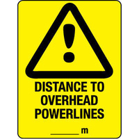 Distance to Overhead Powerlines ...mtrs