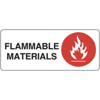 Flammable Materials (Landscape)
