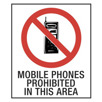 Mobile Phones Prohibited in This Area