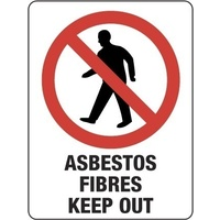 Asbestos Fibres Keep Out