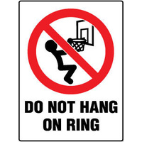 Do Not Hang on Ring