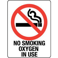 No Smoking Oxygen in Use