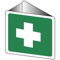 501OWP -- 225x225mm - Off Wall - First Aid Pictogram