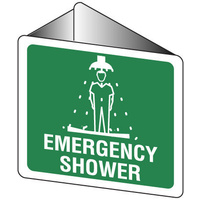Off Wall - Emergency Shower