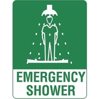 240x180mm - Self Adhesive - Emergency Shower
