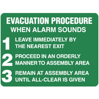 Evacuation Procedure