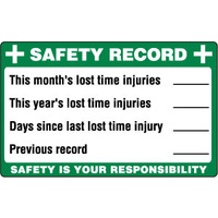 Safety Record Board