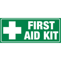 300x140mm - Self Adhesive - First Aid Kit