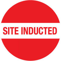 Site Inducted