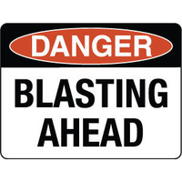 Danger Blasting Ahead