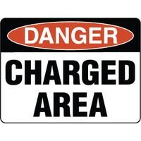 Danger Charged Area