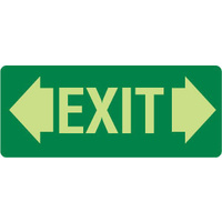 Exit (with double arrows)