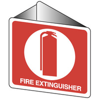 Off Wall - Fire Extinguisher (with pictogram)
