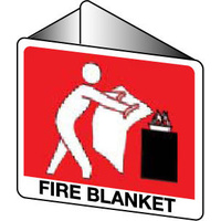 Off Wall - Fire Blanket (with pictogram)