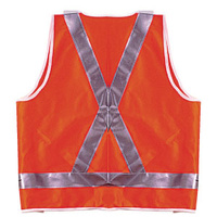 Safety Vest - Reflective - Orange