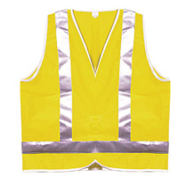 Safety Vest - Reflective - Yellow