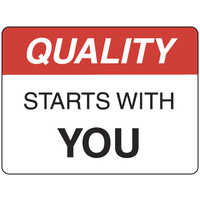 Quality Starts with You