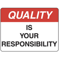 Quality is Your Responsibility