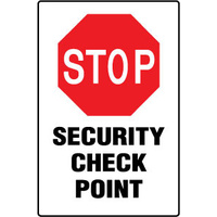 Stop Security Check Point
