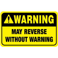 Warning May Reverse Without Warning