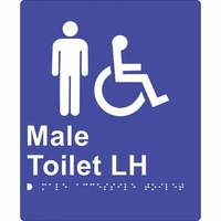 Male Accessible Toilet (Left  Hand)