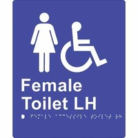 Female Accessible Toilet (Left Hand)