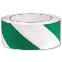 Floor Marking Tape - Green and White