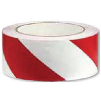 Floor Marking Tape - Red and White