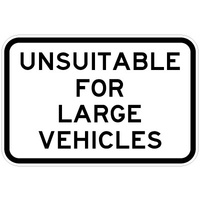 Unsuitable For Large Vehicles