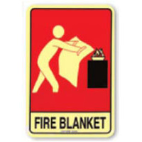 Fire Blanket (With Picto) - Luminous