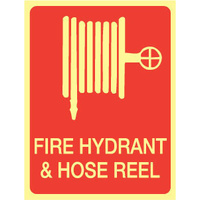Fire Hydrant & Hose Reel (With Picto) - Luminous