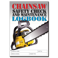 Chainsaw LogBook A5