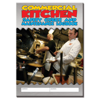 Commercial Kitchens log book A5