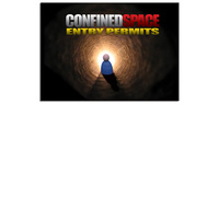 Confined Space Permits log book A4