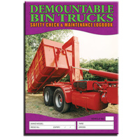 Demountable Bin Trucks log book A4