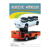 Electric Vehicles log book A5