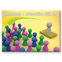 Emergency / Evacuation Drill log book A4